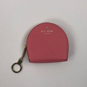Kate Spade Pink Keychain Coin Purse